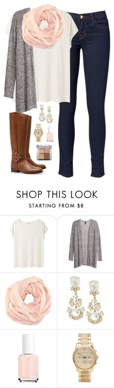 wanting cold weather now by classically-preppy on Polyvore featuring Mode, Acne Studios, H&M, Michael Kors, Kate Spade, Bobbi Brown Cosmetics, Essie, J Brand and Tory Burch