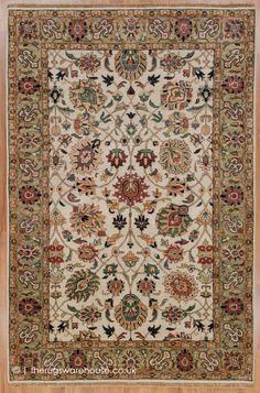 Classic Rugs, Modern Traditional, Border Design, Persian Rug, Oriental Rug, Colorful Rugs, Wool Rug, Bohemian Rug, Vase