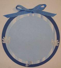 Blue Journaling Tag - Swap - Cafemom - Crop, Paper, Scissors