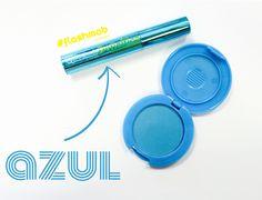#hairchalk #blue #maquillaje #makeup #color