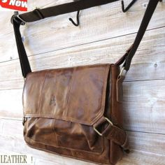 GENUINE Leather HAND Bag FIT iPad Business man LAPTOP TABLET 14 12 retro style 3 | eBay
