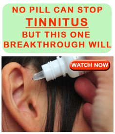No Pill Can Stop Tinnitus But This 1 Breakthrough Will
