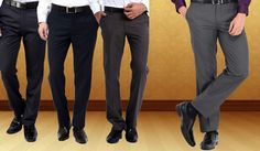 Buy formal trousers for men online and don't miss out on the latest collection of branded trousers on hytrend... Shop here -> http://hytrend.com/men/clothing/trousers/formal-trousers.html