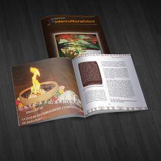 """Diseño e impresión del libro """"Interculturalidad"""" que forma parte de la serie """"Módulos de Saberes"""""""