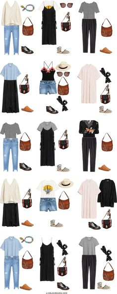 What to Pack for Greece Outfit Options 16-30 Packing Light List