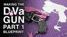 D.Va Gun Replica - Part 1 - Creating the Blueprint