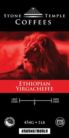 Ethiopian Yirgacheffe 16 oz
