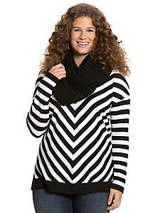 The Weekend V sweater from #LaneBryant