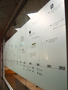 LEVEL STUDIOS '11 - COMPLETED WALL GRAPHIC