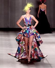 runway fashion, need I say more? I would love to design my own Clothing for a Runway Show!