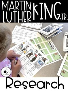 Use these AMAZING Martin Luther King Jr. text packs to get your students researching.