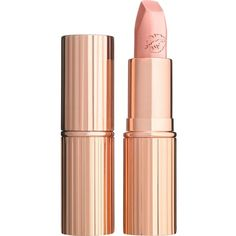 Charlotte Tilbury Hot Lips Kim K.W. ($25) ❤ liked on Polyvore featuring beauty products, makeup, lip makeup, lipstick, beauty, lips and filler