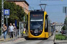 CAF LRVs enter service in Budapest