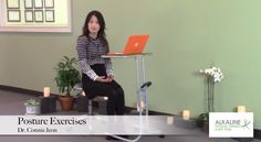 Resolve your back and neck pain by implementing the best practices of the Alkaline Program. Dr. Connie Jeon teaches simple exercises to do in the workplace that will improve your #posture!