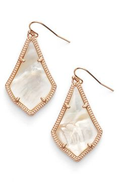 Free shipping and returns on Kendra Scott 'Alex' Drop Earrings at Nordstrom.com. Slim, glossy stones filled with color are prong-set in a pair of etched, gold-plated drop earrings.