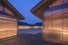 有方 - 新时代的有机农场,建筑营在唐山农村打造半透明粮食加工坊