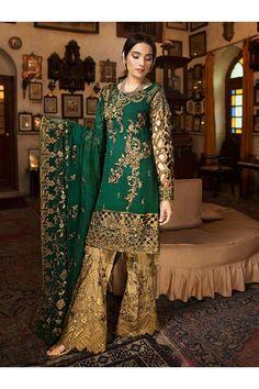 Zebtan Chiffon Pakistani Salwar Kameez Collection ZR-04
