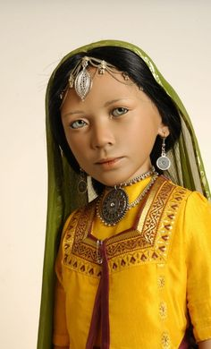 ...Children of the World dolls by Bets van Boxtel