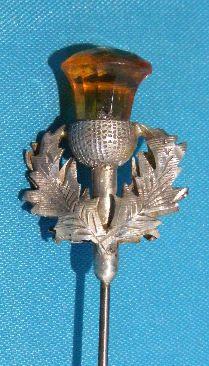 art nouveau, hat pin, oak leaves