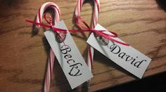 Original Idea!! Simple & Cheap Place Settings for Christmas Dinner!