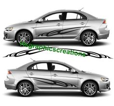 VINYL GRAPHICS DECAL KITS CAR BOAT TRUCK CUSTOM SIZE COLOR VARIATION F1-110 Car & Truck Graphics Decals