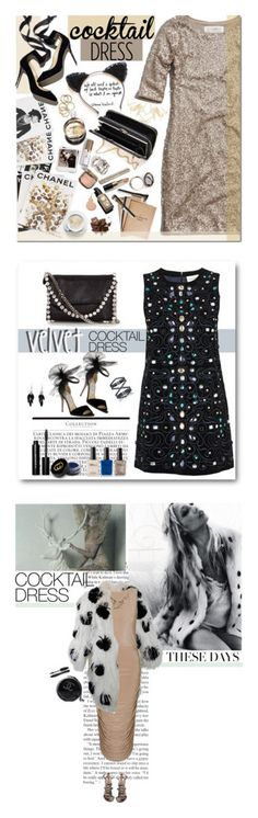 """""""Winners for Cocktail Dress"""" by polyvore ❤ liked on Polyvore featuring Abercrombie & Fitch, Odeme, Assouline Publishing, Balmain, Garance Doré, Max Factor, Bobbi Brown Cosmetics, Hermès, Emma Watson and cocktaildress"""