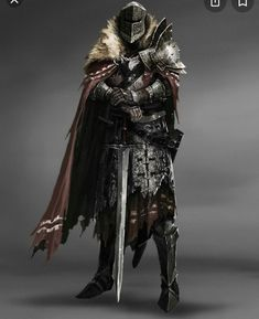 Dark Fantasy Art, Fantasy Armor, Medieval Fantasy, Medieval Knight, Medieval Armor, Dungeons And Dragons Characters, Dnd Characters, Fantasy Characters, Fantasy Character Design