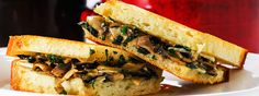 Pair this brie grilled cheese with Pinot Noir  5 grilled cheese and wine pairings