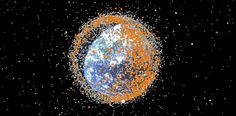 Space Debris from 1957 - 2015  , - ,   Almost 20,000 pi...