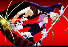 Maka and Crona.make a good team but when they are mad together they are great
