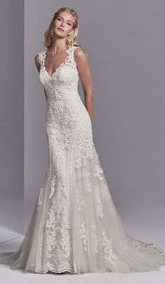 Vintage Bride Wedding Dress by Sottero and Midgley - Channing Rose