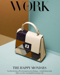 From hugoboss - Go from boardroom to bar with the graphic new patchwork edition #bossbespokebag seen in this month's @bazaar_nl #thisisboss #springsummer2016