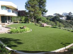 Houston artificial turf company has the perfect synthetic grass for you!   #grass #backyard #family