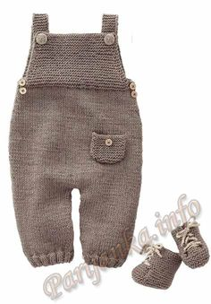 Mag 165 - - Dungarees and sneakers Patterns Knitting For Kids, Baby Knitting Patterns, Baby Patterns, Free Knitting, Baby Outfits, Kids Outfits, Crochet Baby, Knit Crochet, Knitted Baby