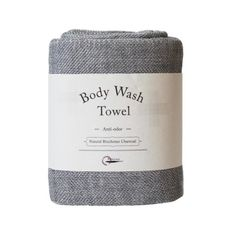 The Body Wash Towel is ideal for showering and the gym. It is infused with binchotan charcoal which naturally absorbs odor and bacteria.