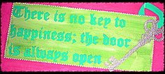 There is no key to happiness; the door is always open #motherteresa #painting @boutiquelexila ♥ ♥ ♥