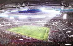 Qatar Unveils Designs for Fourth World Cup Stadium