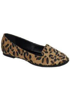 Lucky Leopard Pony Hair Loafers - Multi | Daily Chic