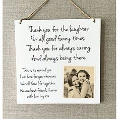 Handmade Gifts For Friends, Presents For Best Friends, Bff Gifts, Best Friend Gifts, Gifts Uk, Happy Birthday Best Friend Quotes, Birthday Cards For Friends, Friend Birthday Gifts, Birthday Surprise Ideas For Best Friend