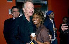 "Alan Rickman and Alfre Woodard at the final rehearsal for ""Impossible Boulevard: From Homeless to Hope"" on October 29, 2005."