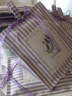 Lavender for the linens...