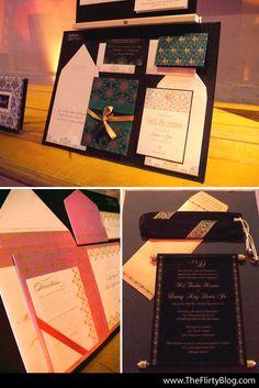 Scroll Indian Wedding Invitations by www.Hyegraph.com