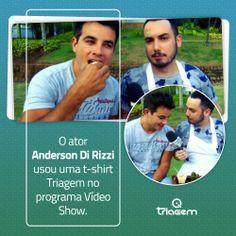 Anderson di Rizzi usa Triagem Jeans.