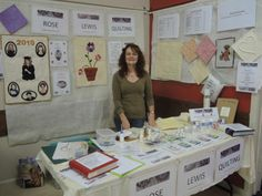 This is myself, Rose Lewis demonstrating at the Yarragon market, in Victoria, in Australia. To find out more about what I do go on over to www.roselewisquilting.com.au