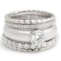 Martine Stacking Rings from Erin Tracy
