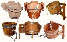 Buy Bucket falls oval 30 l of BARRELS™ Bucket- waterfalls in Kiev Ukraine — from King Barrels, ChP in catalog Allbiz! Sauna Steam Room, Sauna Room, Mobile Sauna, Building A Sauna, Sauna Kits, Sauna Benefits, Sauna House, Sauna Design, Cool Tree Houses
