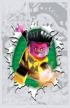 dc comics lego variant covers | DC Comics LEGO Variant: rivelate le Cover