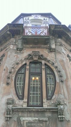 Casa Romulus, la intersectia strazilor Negustori si Paleologu.