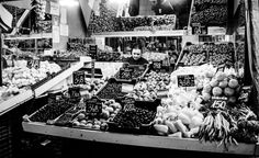 Budapest. In the market you can taste Hungarian herbal liquer Unicum, Hungarian langos, buy famous red paprika, taste Hungarian salami, or blood sausage hurka and other things.