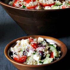 Mediterranean Quinoa Salad   Bobbi's Kozy Kitchen